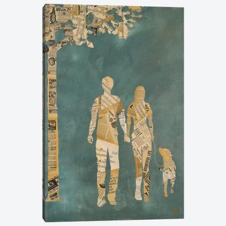 Summer Stroll Canvas Print #KHS22} by Kelsey Hochstatter Canvas Art