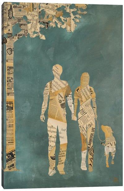 Summer Stroll Canvas Art Print