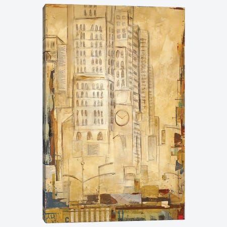 Tracks I Canvas Print #KHS24} by Kelsey Hochstatter Canvas Print