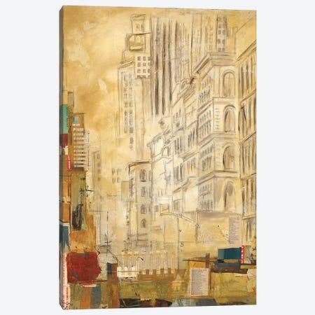 Tracks II Canvas Print #KHS25} by Kelsey Hochstatter Art Print