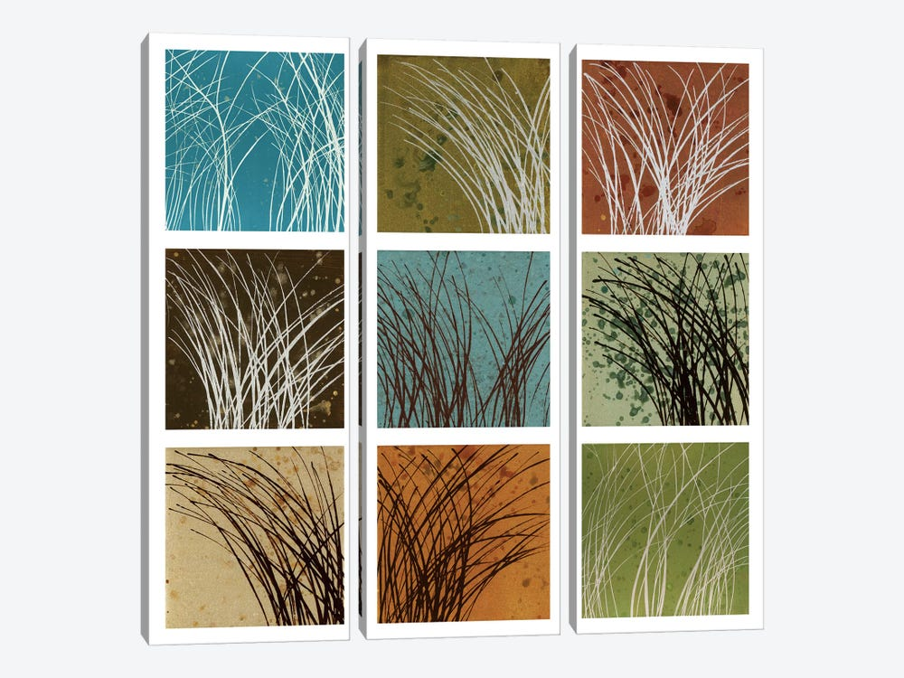 Wind And Rain by Kelsey Hochstatter 3-piece Canvas Art