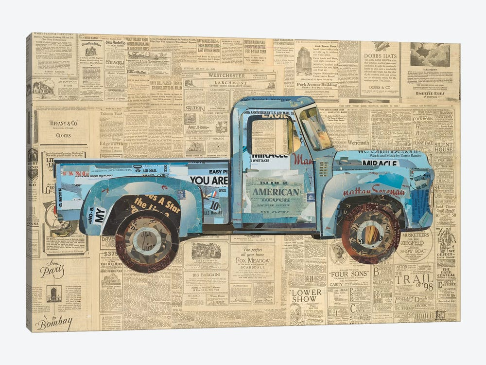 George's '53 Ford by Kelsey Hochstatter 1-piece Art Print