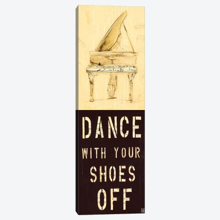 Dance With Your Shoes Off Canvas Print #KHS2} by Kelsey Hochstatter Canvas Art