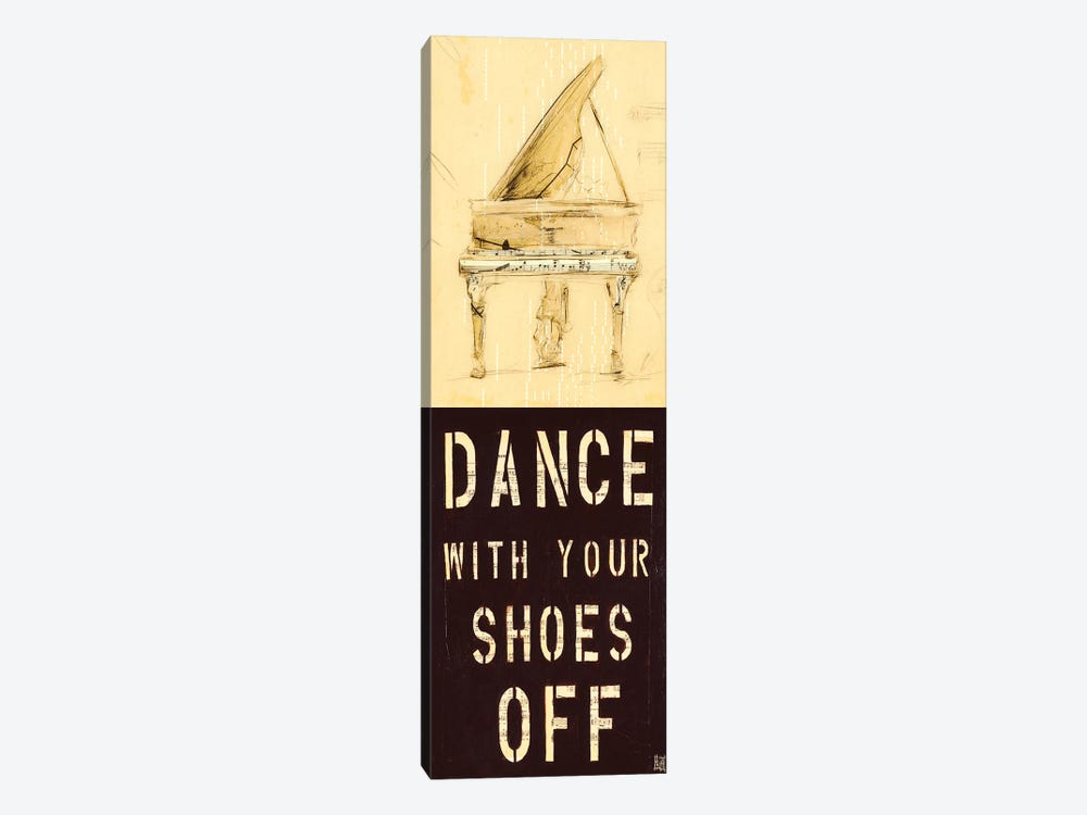 Dance With Your Shoes Off by Kelsey Hochstatter 1-piece Canvas Wall Art