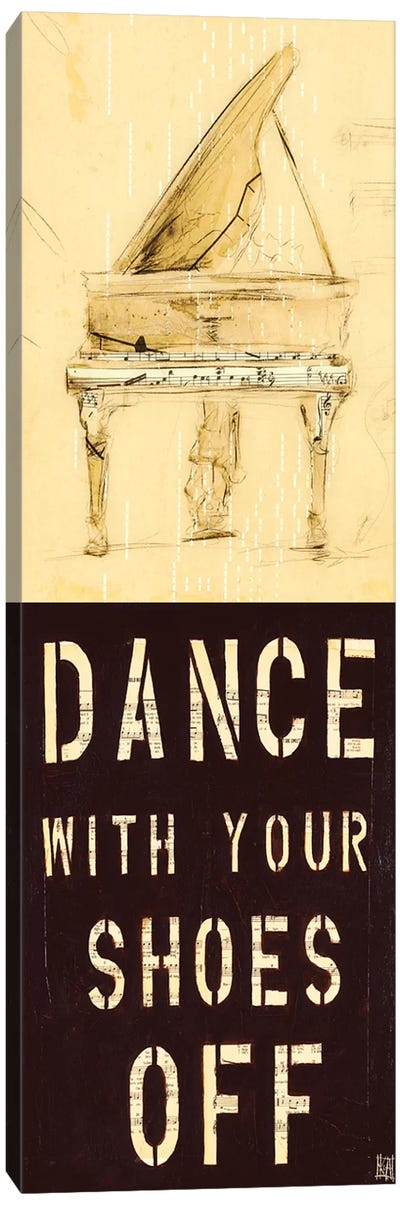 Dance With Your Shoes Off Canvas Art Print