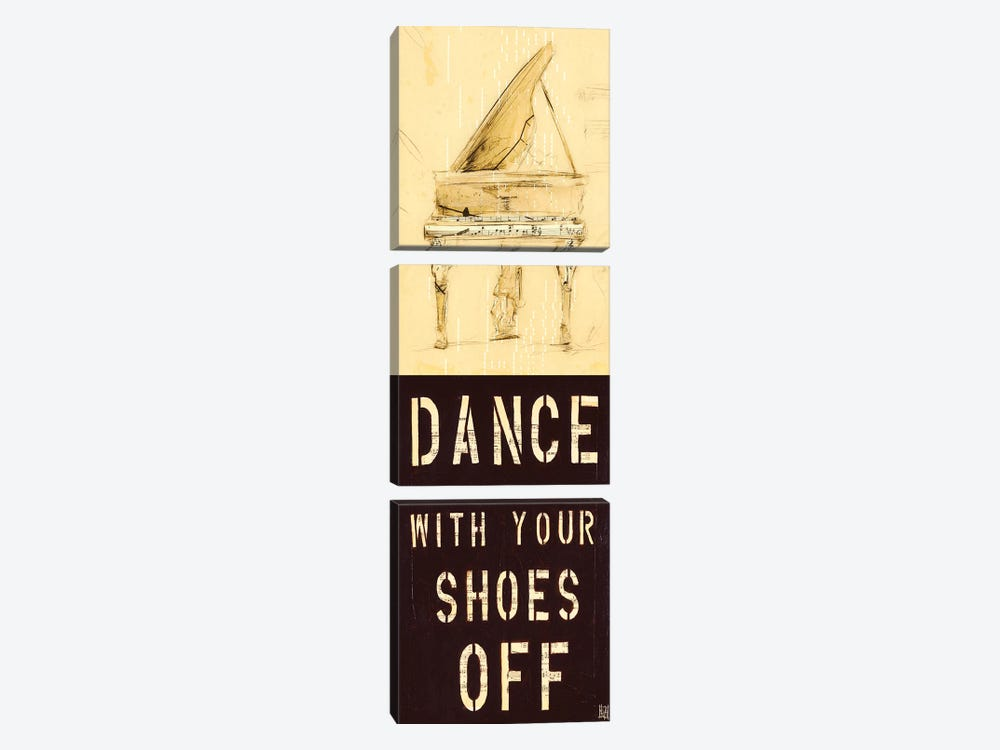Dance With Your Shoes Off by Kelsey Hochstatter 3-piece Canvas Artwork