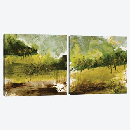 Griffith Park Diptych Canvas Print Set #KHS2HSET001} by Kelsey Hochstatter Canvas Print