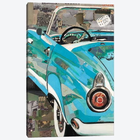 Thunderbird Canvas Print #KHS30} by Kelsey Hochstatter Canvas Print