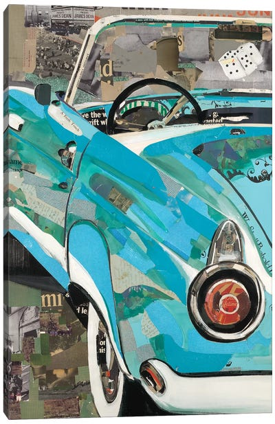 Thunderbird Canvas Art Print