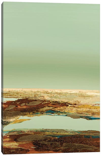 So Quietly V Canvas Art Print