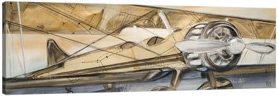 Biplane Canvas Art Print