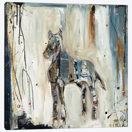 Imprint Horse Canvas Print #KHS38} by Kelsey Hochstatter Canvas Print