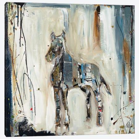 Imprint Horse Canvas Print #KHS38} by Kelsey Hochstatter Canvas Print