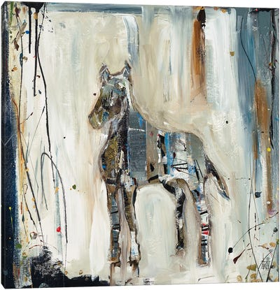 Imprint Horse Canvas Art Print