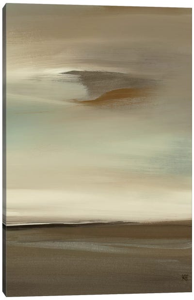 February Canvas Art Print