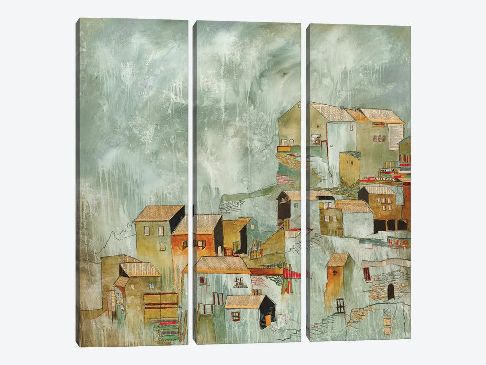 Hiding Place by Kelsey Hochstatter 3-piece Canvas Wall Art