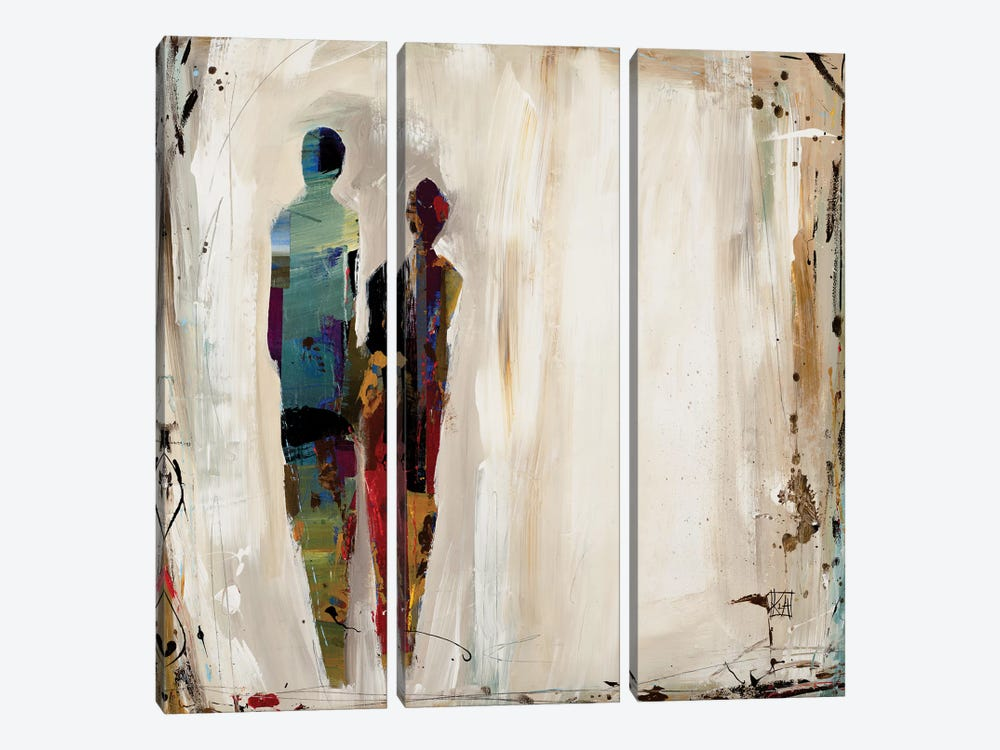 Imprint by Kelsey Hochstatter 3-piece Canvas Print
