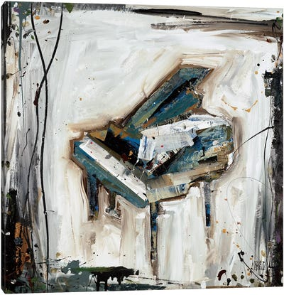 Imprint Piano Canvas Art Print