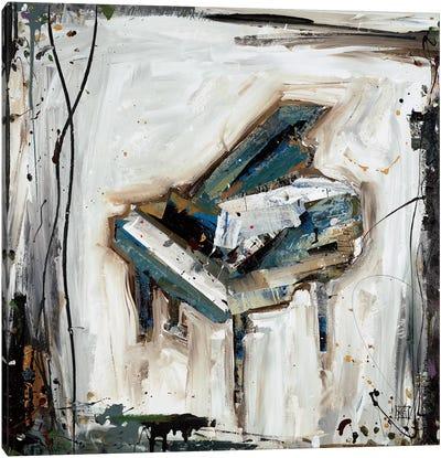 Imprint Piano Canvas Art Print
