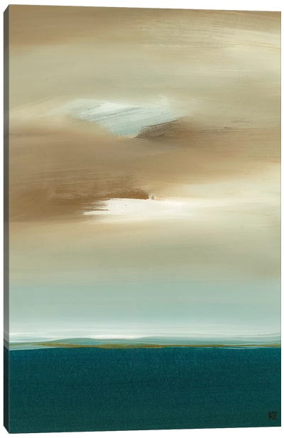 January Canvas Art Print