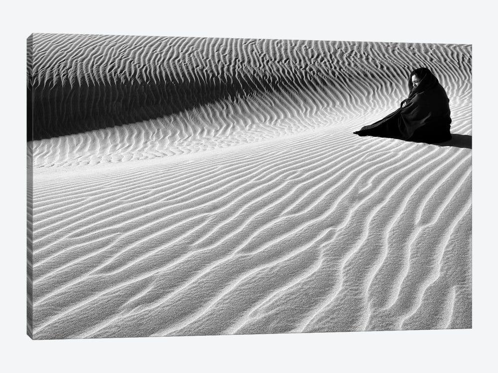 Sandy Thoughts! by Ali Khataw 1-piece Canvas Art Print