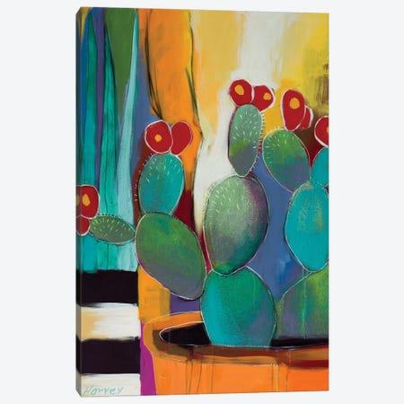 In The Courtyard Canvas Print #KHV11} by Kristin Harvey Canvas Artwork