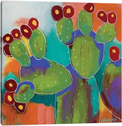 Prickly Canvas Art Print