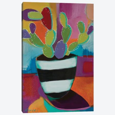 Prickly Pot Canvas Print #KHV17} by Kristin Harvey Art Print