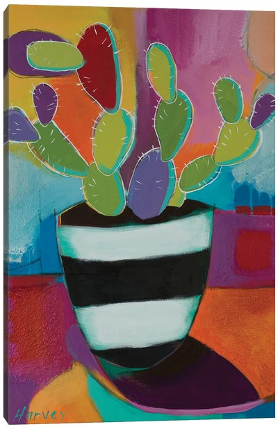 Prickly Pot Canvas Art Print