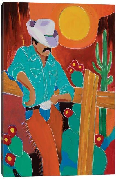 A Hard Day's Ride Canvas Art Print