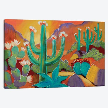 Spring In Green Valley Canvas Print #KHV22} by Kristin Harvey Canvas Art Print