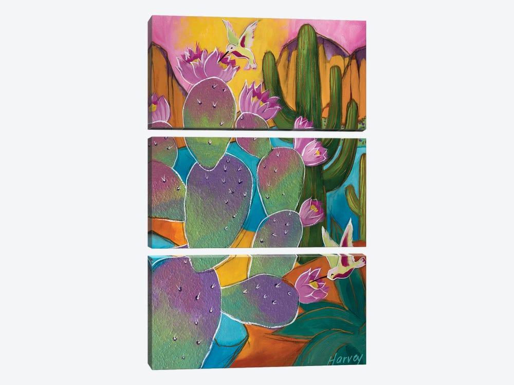Spring's Bounty by Kristin Harvey 3-piece Canvas Art Print