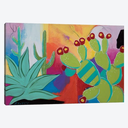 The Agave And The Pear Canvas Print #KHV26} by Kristin Harvey Canvas Art