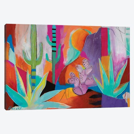 Wild Times Canvas Print #KHV29} by Kristin Harvey Art Print