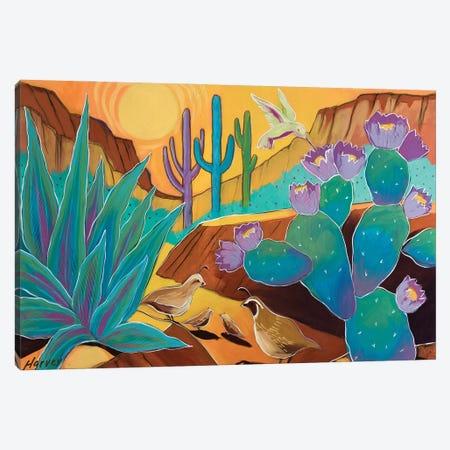 Our Beautiful Desert Canvas Print #KHV32} by Kristin Harvey Canvas Wall Art