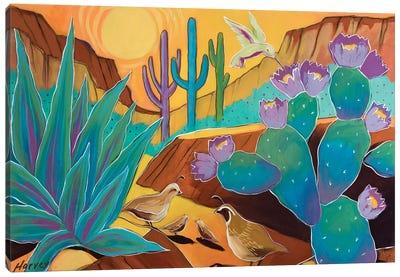 Our Beautiful Desert Canvas Art Print