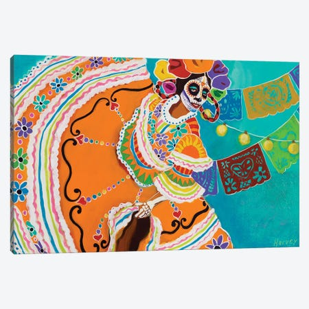 Baile De Memoria Canvas Print #KHV39} by Kristin Harvey Canvas Wall Art