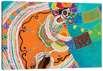 Baile De Memoria Canvas Art Print