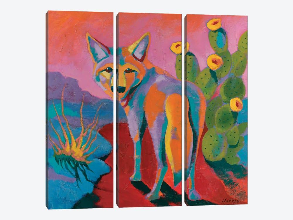 The Watcher by Kristin Harvey 3-piece Canvas Wall Art