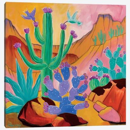 Desert Joy Canvas Print #KHV7} by Kristin Harvey Canvas Art