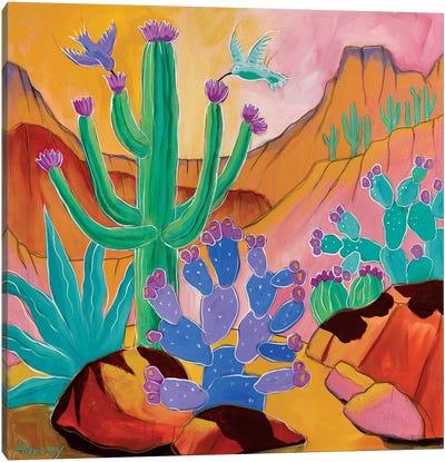 Desert Joy Canvas Art Print