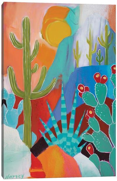 Desert Showers Canvas Art Print