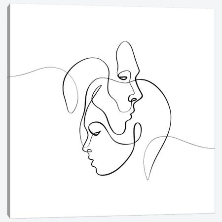 Closer Canvas Print #KHY12} by Dane Khy Canvas Print