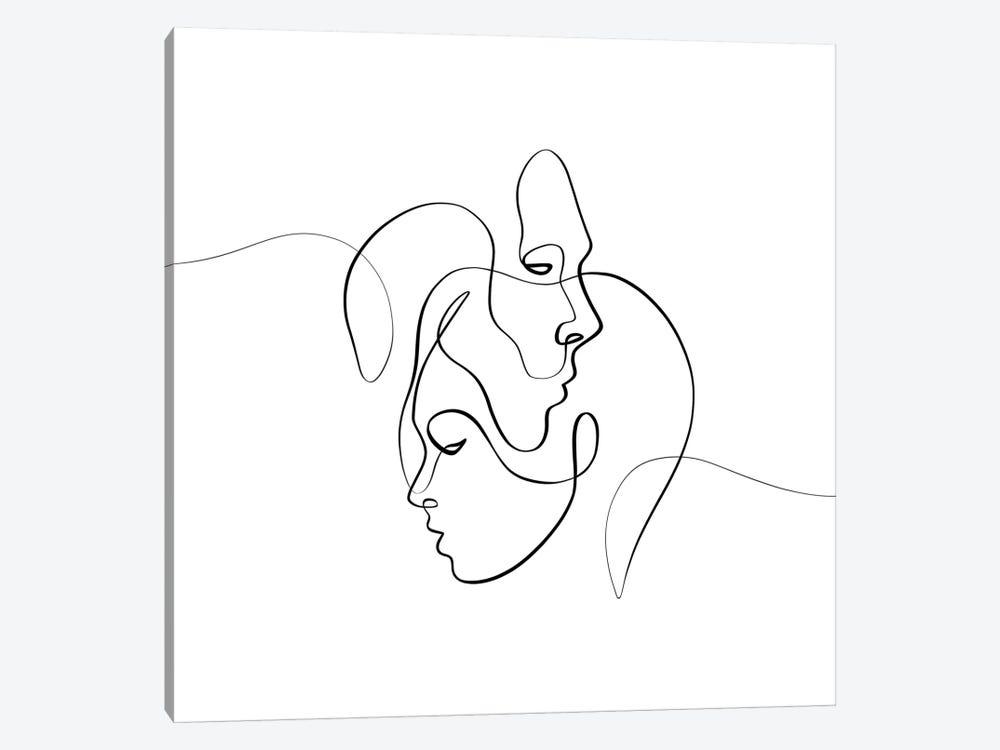 Closer by Dane Khy 1-piece Canvas Print