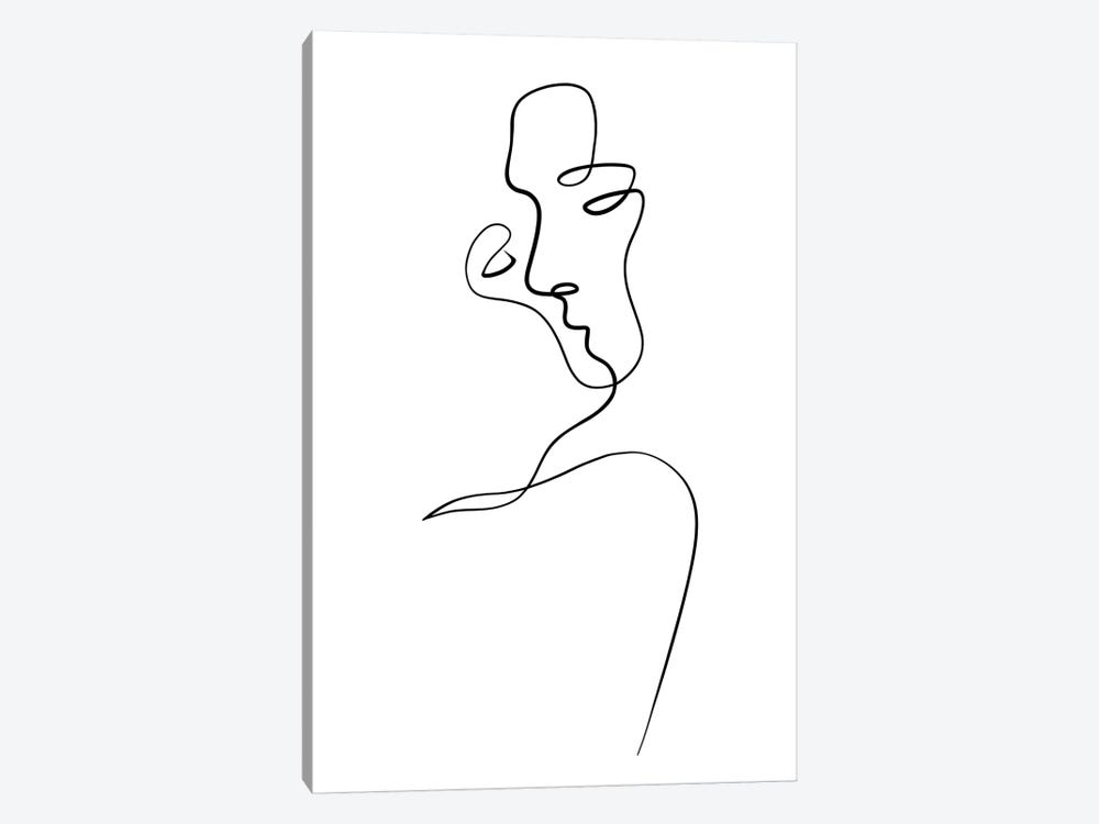 Aligned at the Lips by Dane Khy 1-piece Art Print