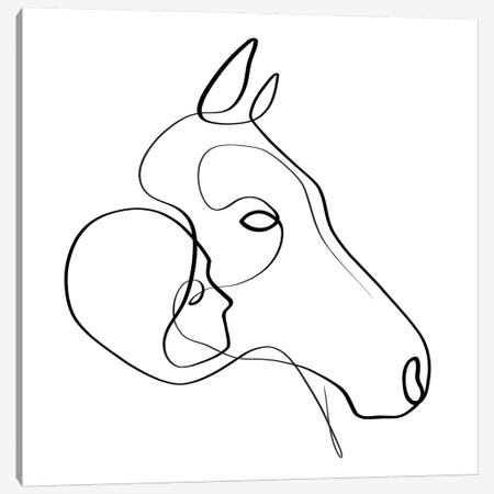 Steady Hearts Canvas Print #KHY46} by Dane Khy Art Print
