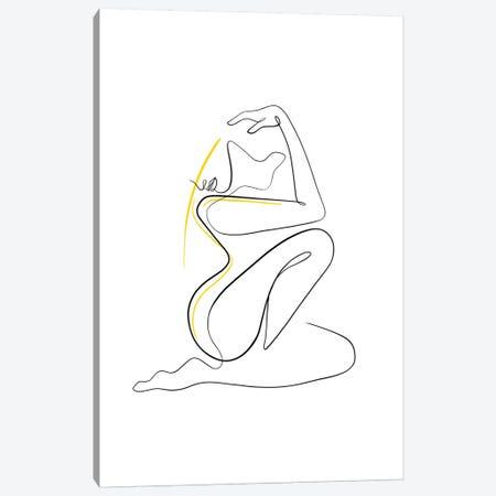 Woman Nude II Canvas Print #KHY71} by Dane Khy Canvas Art Print