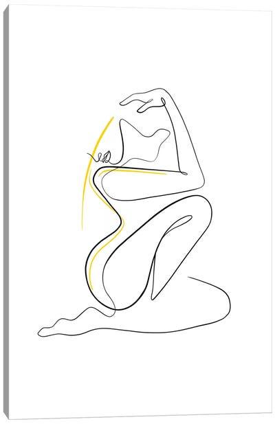 Woman Nude II Canvas Art Print