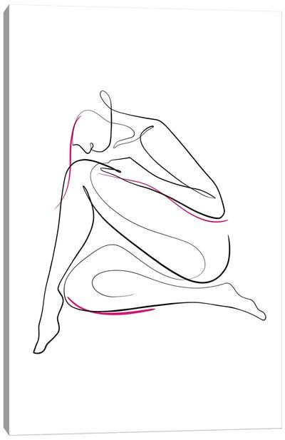Woman Nude III Canvas Art Print
