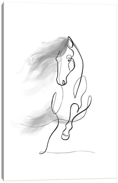 Horse Portrait No. 9 Canvas Art Print
